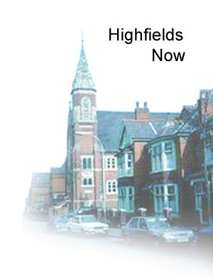 A more recent picture of a church in Highfields  - used as a header for the category of Highfields now