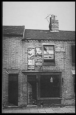 A picture of a dilapidated terraced house