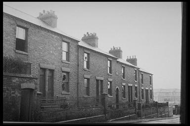 A picture of set of terraced houses