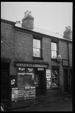 A picture of an old newsagents shop