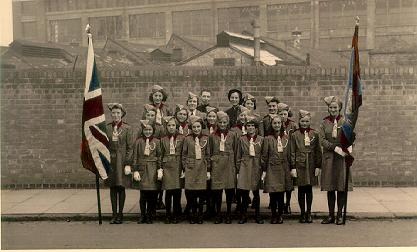 A picture of The Salvation Army 'Guards'